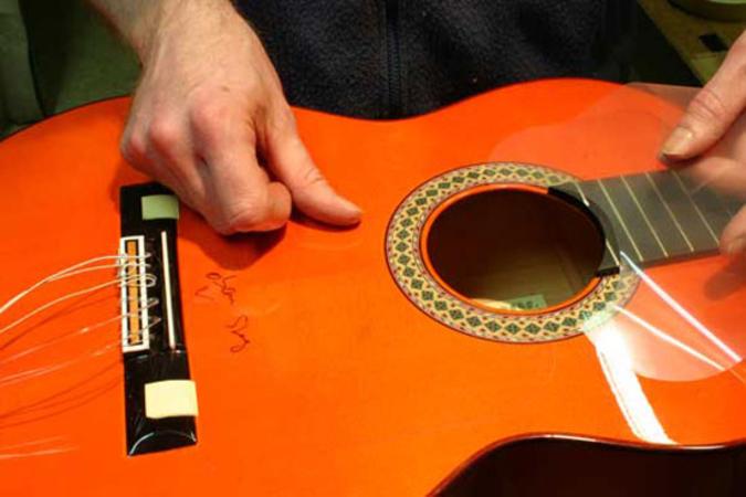 Flamenco Guitar Golpeador